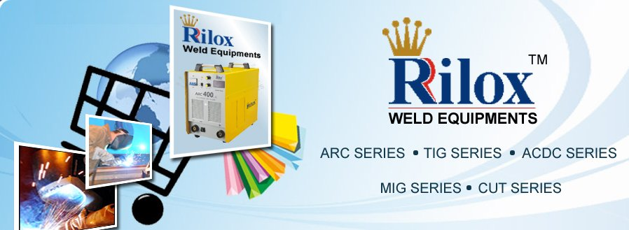 Rilox Weld Equipments - Banner